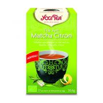 Green Tea Matcha Lemon 17 Bags Yogi Tea