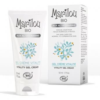 Gel Cream Vitality Day 50Ml Marilou Bio