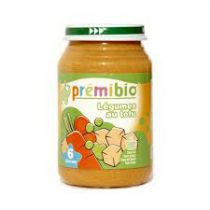 Baby Jar Vegetables Tofu 200G Premibio