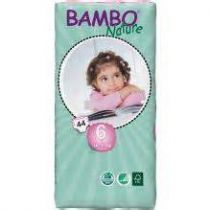 Diapers Xl 6 16-30 Kg 44 Pieces Bambo Nature
