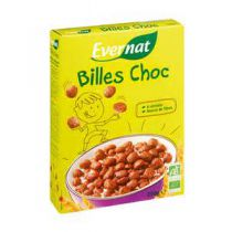 Chocoballs Ontbijtgranen Bio 250G Evernat