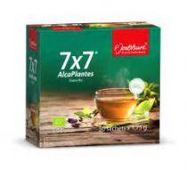 7 X 7 Alcaplantes Kruidenthee Bio 50 Zakjes P. Jentschura