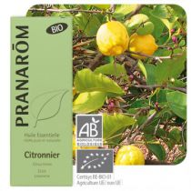 Lemon Essential Oil Organic Pranarom 10Ml