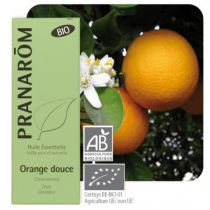 Sweet Orange Essential Oil Organic Pranarom 10Ml