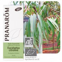 Lemon Eucalyptus Essential Oil Organic Pranarom EXPIRE 30/06/19