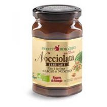 Nocciolata Milk and Gluten-Free Organic Spreadable Cocoa Spread 270g