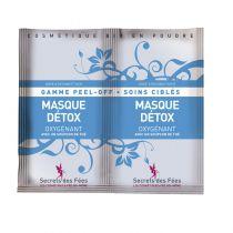Detox mask organic 2x8g Secrets des fées