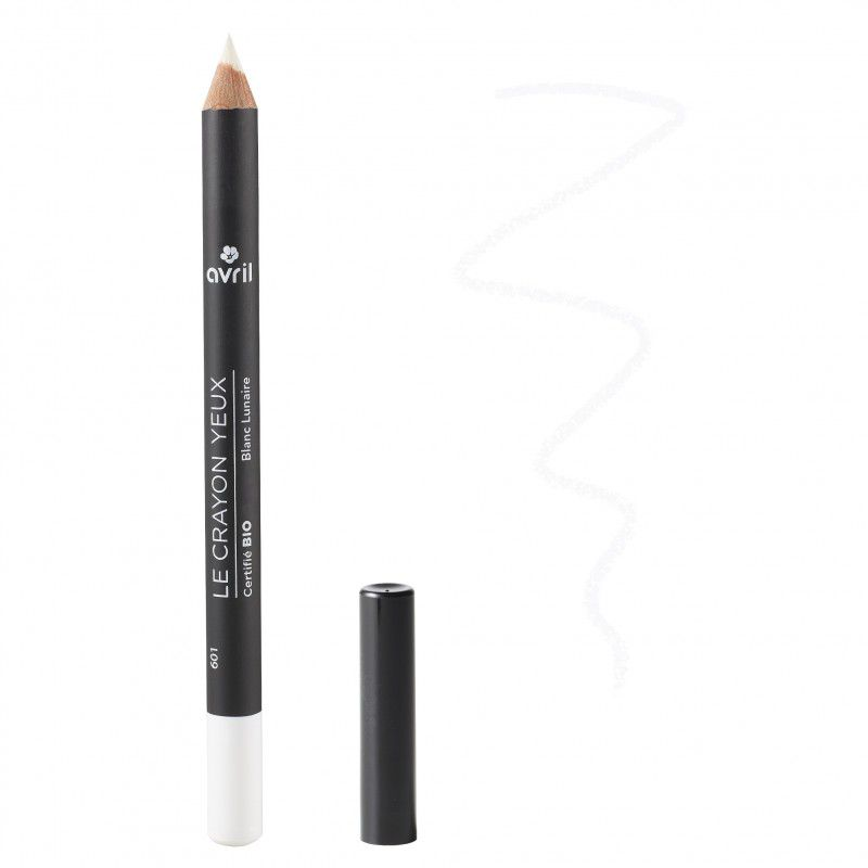 Eye pencil white organic Avril