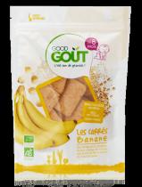 Banaan vierkantjes 50g vanaf 8 maand Good Gout