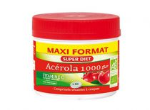 Acerola 1000 Organic 60 tablets Super Diet