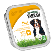 Hondenvoer paté met kip 150g Yarrah
