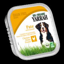 Paté dog food with chicken 150g Yarrah