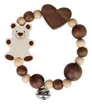 Rattle touch ring Bear Heimess