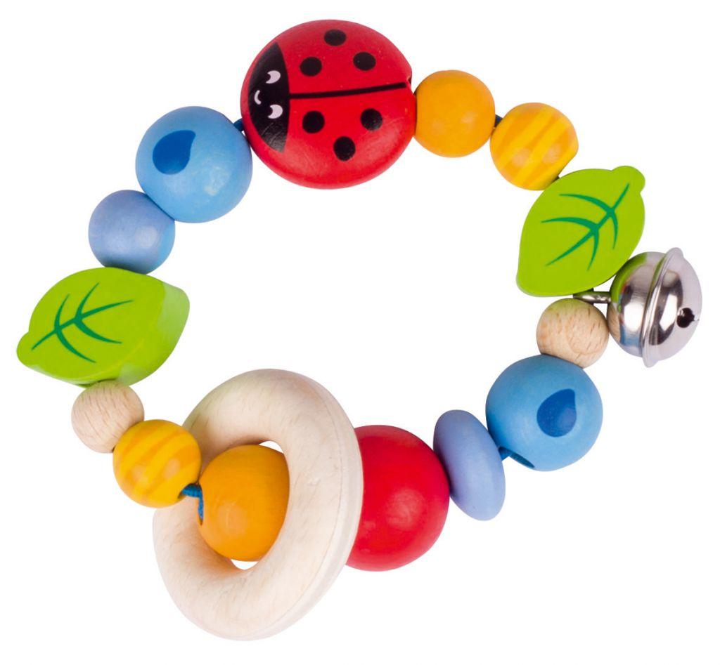 Rattle touch ring Ladybird Heimess