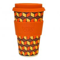 Bamboo Cup Orange