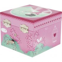 Ulysse Bird in Cage Musical Box