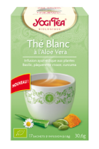 Yogi White tea with aloe vera organic 17 bags