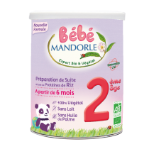Preparation for Infants - 2nd age - From 6 months old Baby Mandorle
