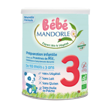 Infant preparation - 3rd age - From 10 months to 3 years old Baby Mandorle
