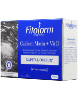Sea Calcium + Vit D 60 tabs Fitoform