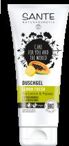 Lemon Fresh Shower Gel 200ml Sante Naturkosmetik