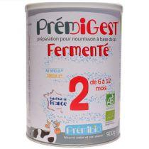 Prémigest 2nd Age Transit Fermented 6-12 months 900g.