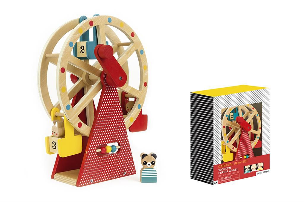 Carnival Play Set Ferris Wheel Petit Collage