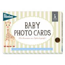 Milestone™ Baby Photo Cards - Sophie la girafe