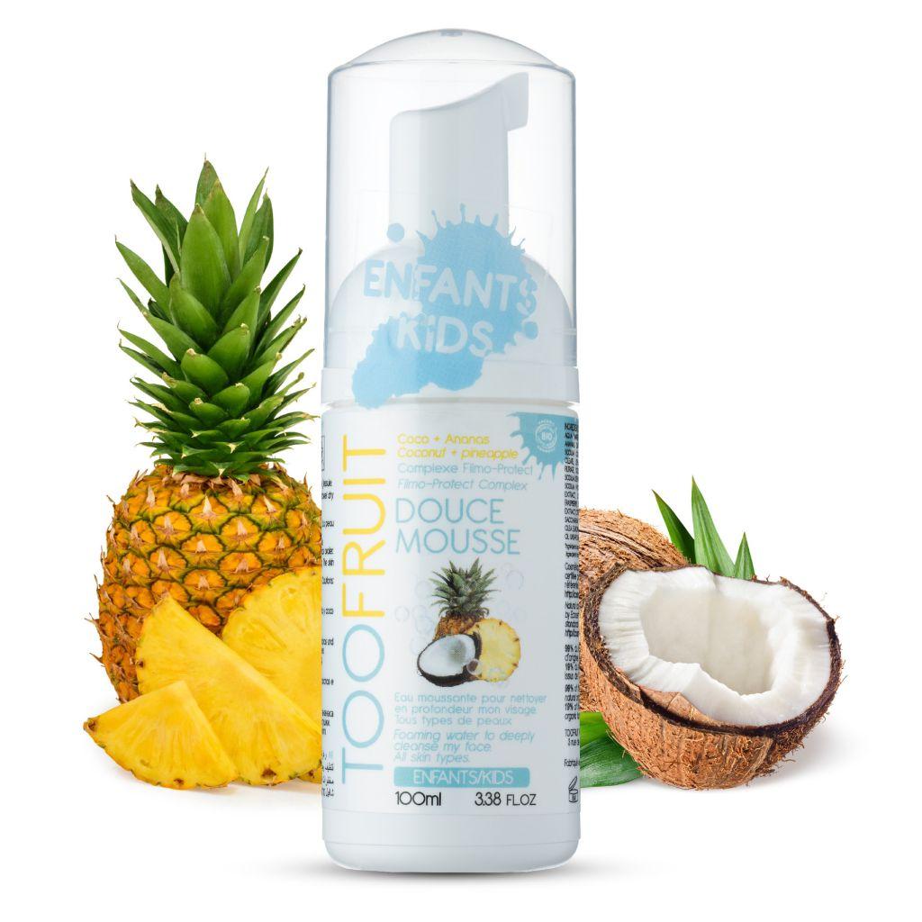 Gentle Foam Ananas Coconut 100ml Toofruit