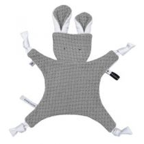 Cuddle Toy Bunny Grey Bamboom