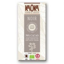 Dark Chocolate 70% Cocoa 100g Fairtrade Kaoka