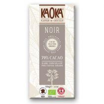 Chocoladereep puur 70% 100g Fairtrade Kaoka