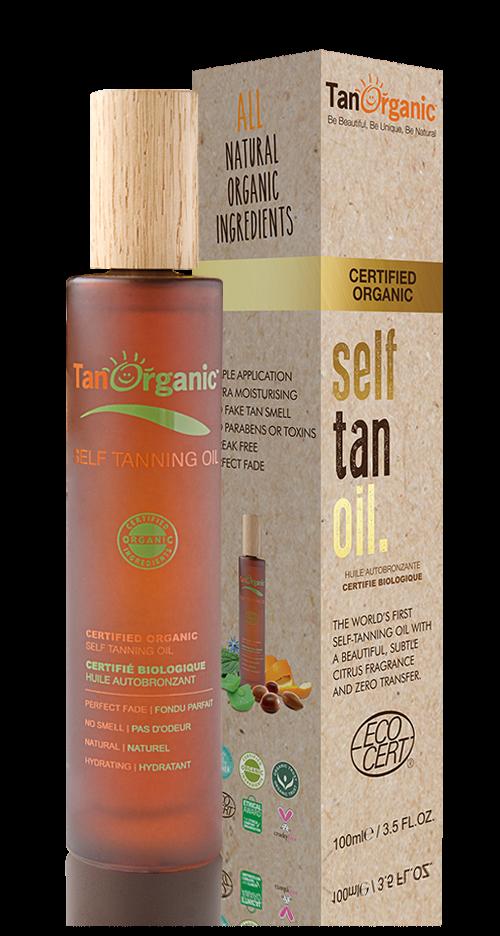 Zelfbruinende Olie 100ml Tan Organic