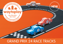 Grand Prix Race Track 24 pieces Way to Play