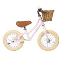 Loopfiets First Go Roze Banwood