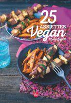 25 Assiettes Vegan Livre Marie Laforet Editions La Plage