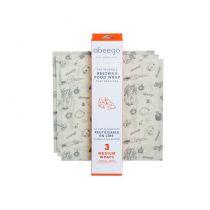3 Emballages Alimentaires Réutilisables Medium Abeego