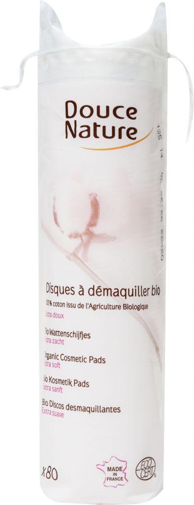 80 Organic Cosmetic Pads Douce Nature