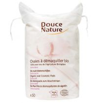 80 Organic Cosmetic Pads Douce Nature