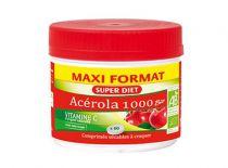 Acerola 1000 Bio 60 comprimés à croquer Super Diet