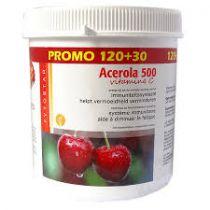 Acerola 500 120 + 30 Comprimés Gratuit
