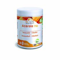 Acerola 750 50 Gelules Biolife