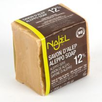 Aleppo Soap 12% Laurel Oil 200G Najel