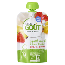 Almond Pear Vegan Yoghurt 90g 6M Good Gout