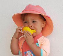 Anti-UV baby Zonnehoedje Safari