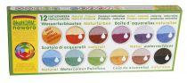 Aquarelle 12 couleurs végétales Okonorm