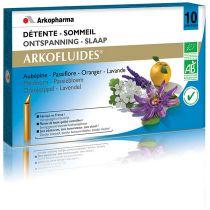 Arkofluides Détente Sommeil 10 Ampoules