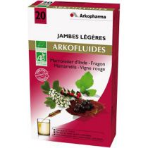 Arkofluides Jambes Légères 10 Ampoules