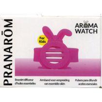 Aromawatch Enfant Bracelet Diffuseur Anti-Moustiques Lapin