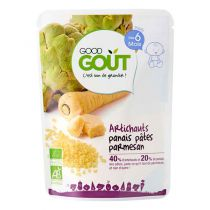 Artichaut Panais Pâtes Parmesan 6M Good Gout